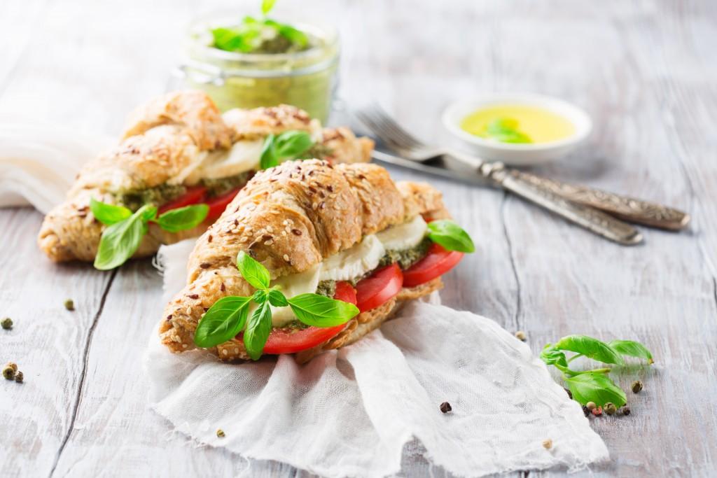 fancy club sandwich