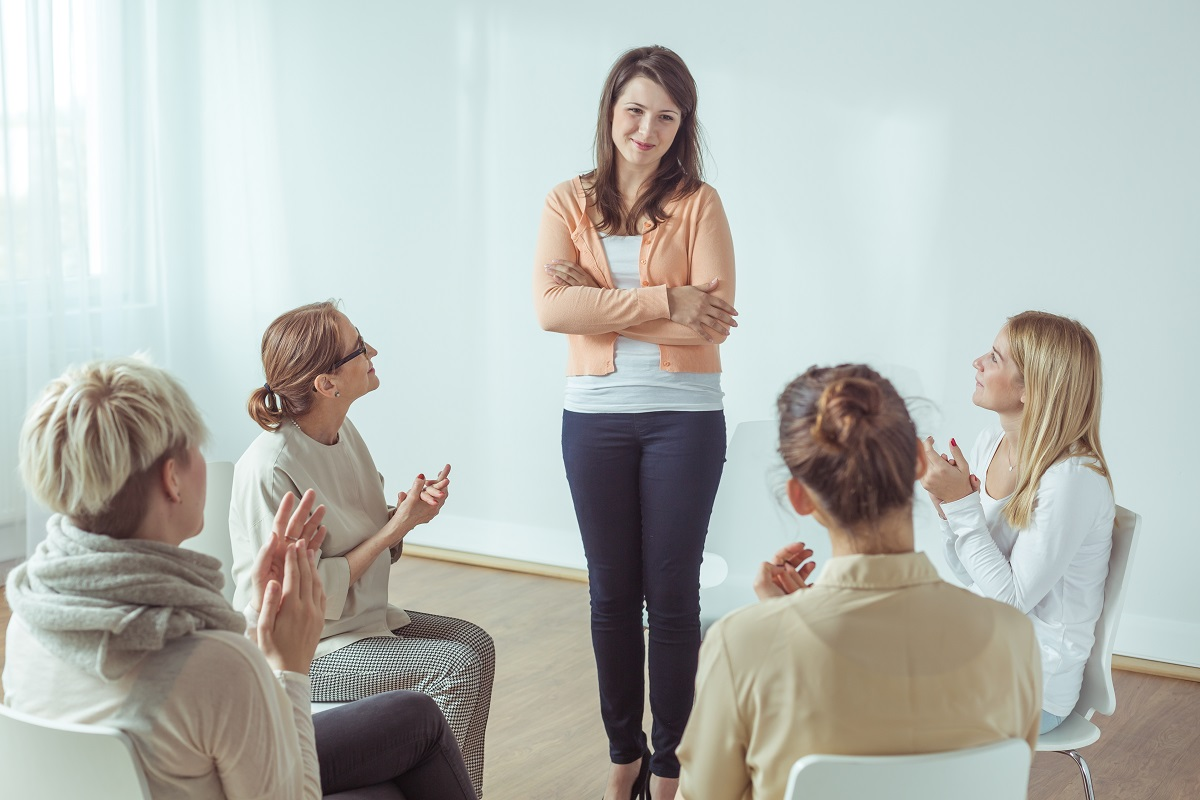 All female support group