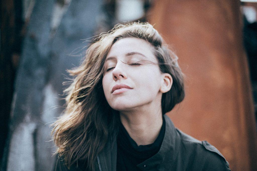 Woman in peace