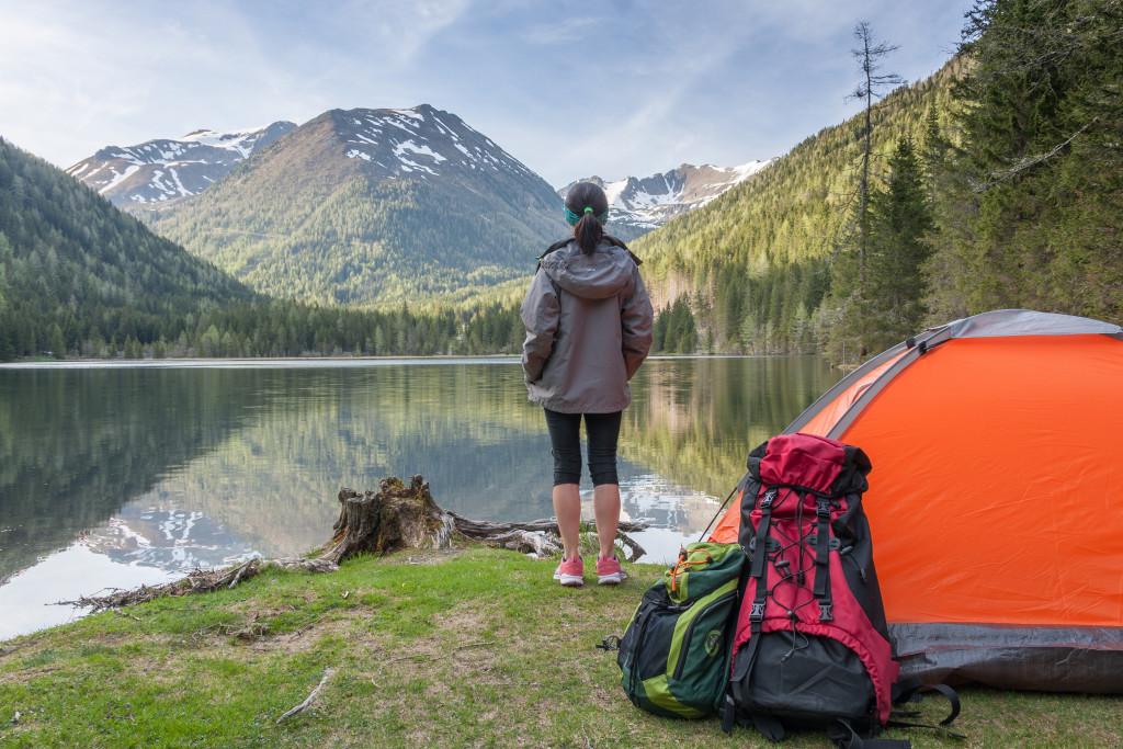 Forest Trekking concept