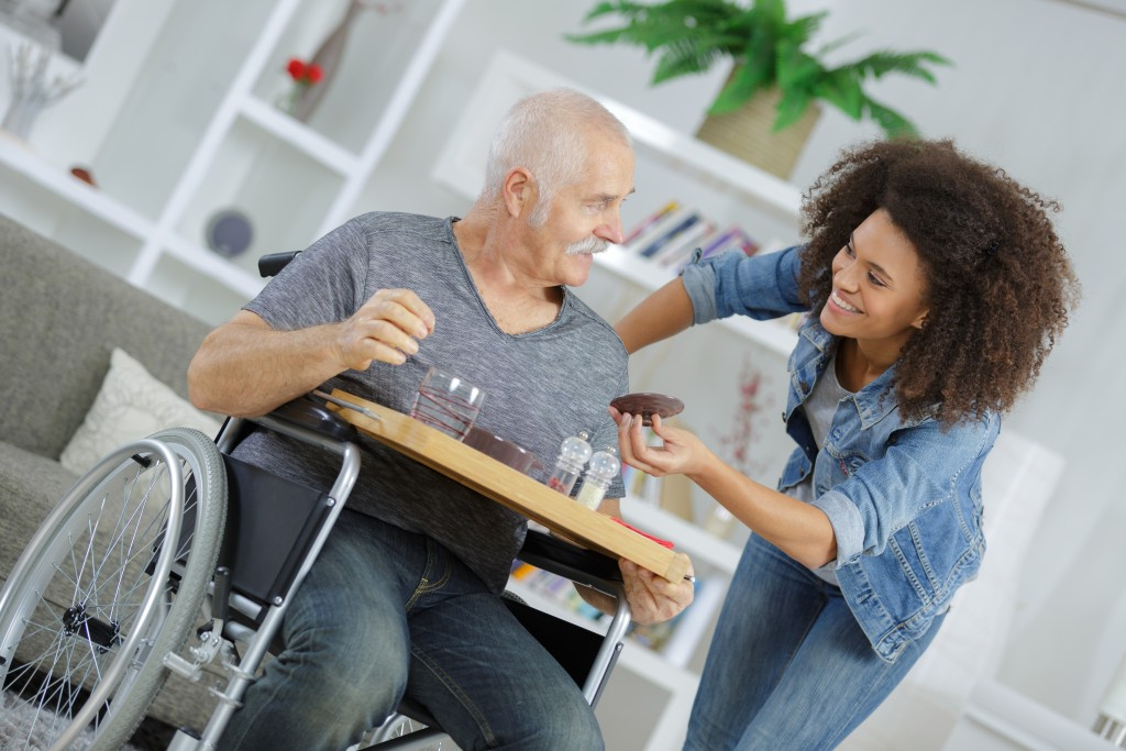 Taking care of the elderly in your home