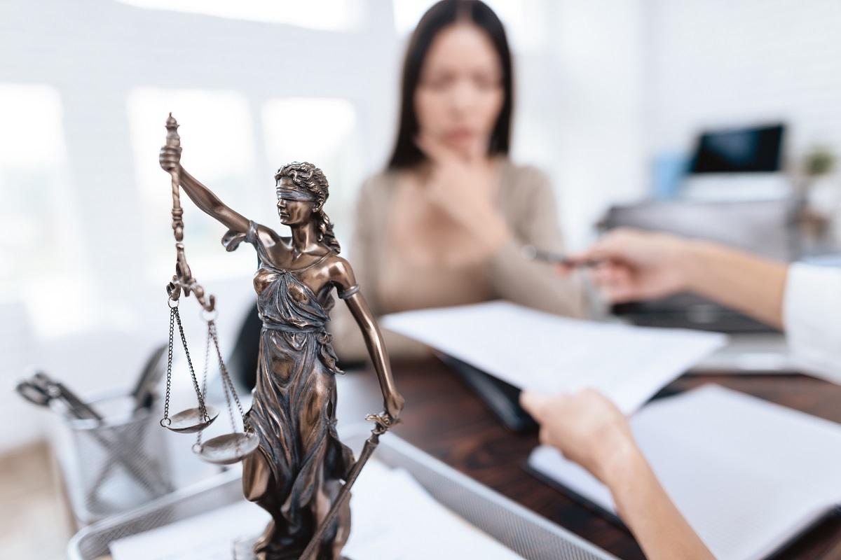 filing a divorce concept