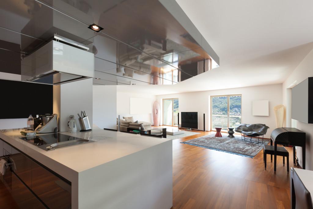 furnished indoor space